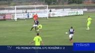 PŠC PEZINOK PREHRAL S FC ROHOŽNÍK 0 : 2
