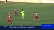 PŠC PEZINOK REMIZOVLA S FC MALACKY 1 : 1